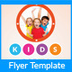 Kids Party Flyer Template Two - GraphicRiver Item for Sale