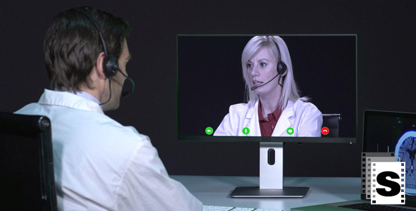 VideoHive Doctors Video Conference 9702183