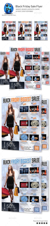 GraphicRiver Black Friday Sale Flyer 9658904