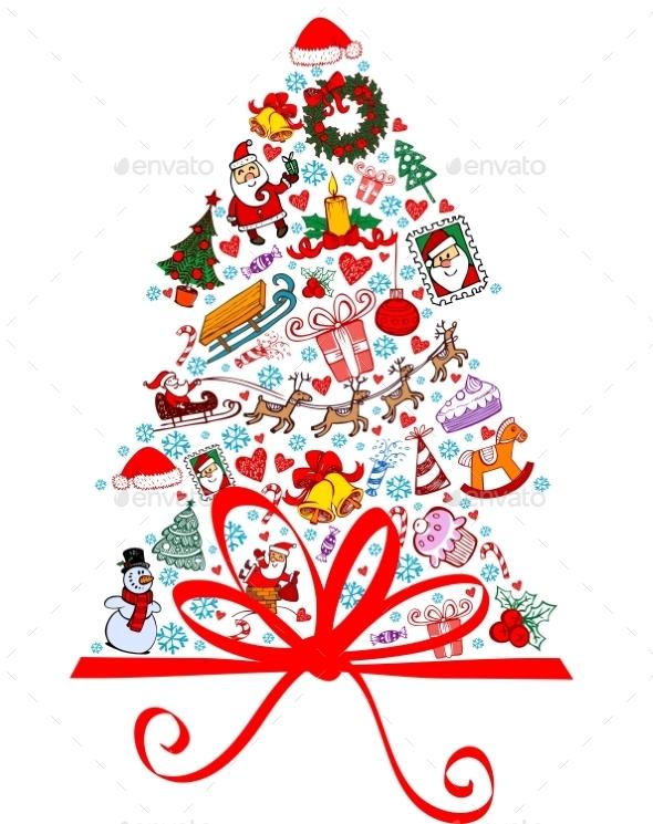 GraphicRiver Christmas Tree 9702191