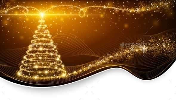 GraphicRiver Christmas Magic Tree 9702464