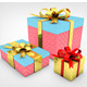 Christmas GiftBox Mockups - GraphicRiver Item for Sale