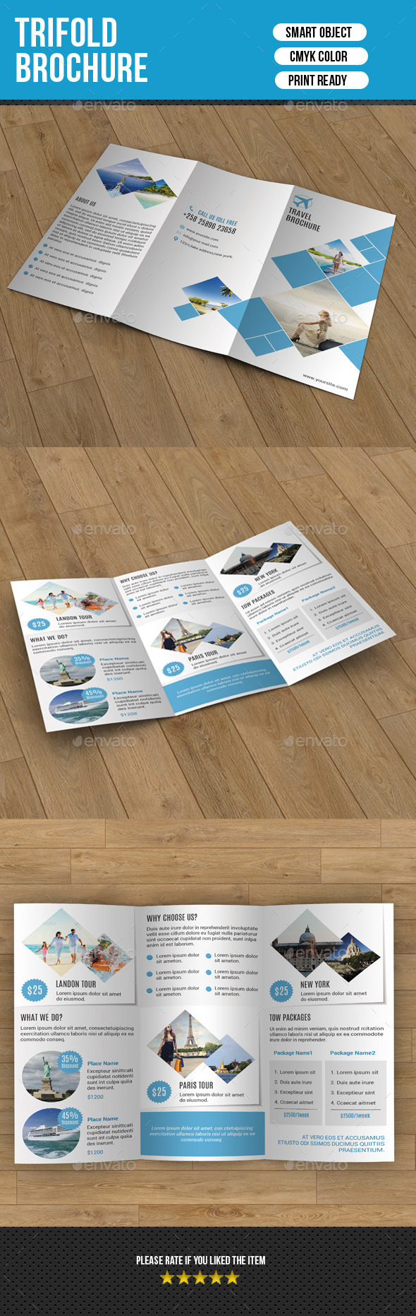 GraphicRiver Trifold Business Brochure-V195 9702626