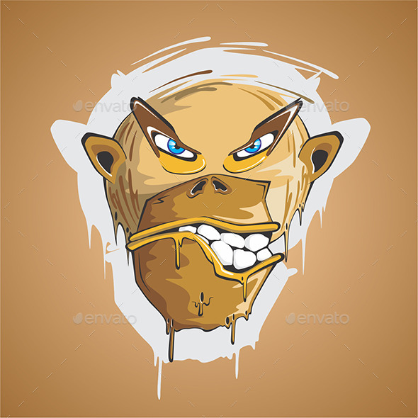 GraphicRiver Angry Monkey 9666882