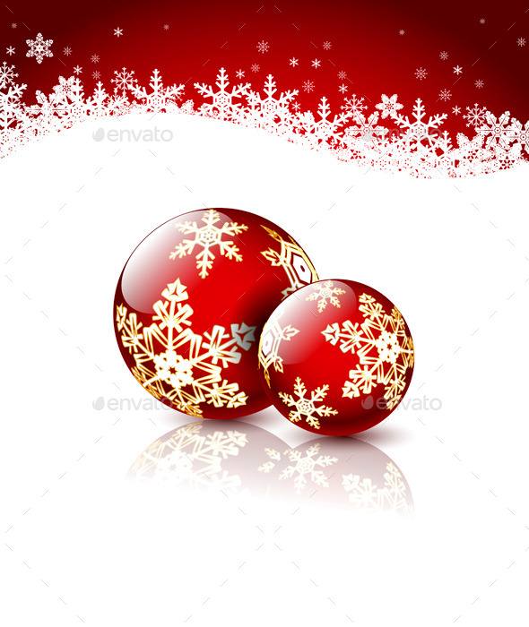 GraphicRiver Christmas Balls 9702964