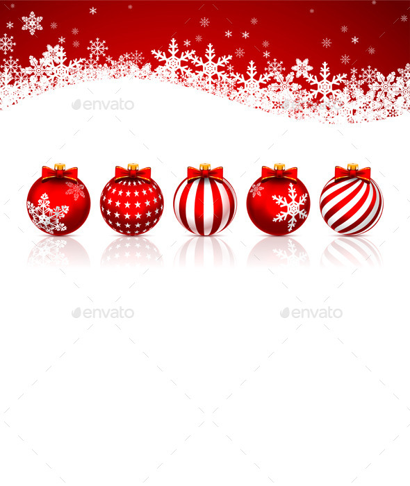 GraphicRiver Christmas Balls 9702978