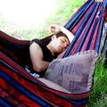 Teenager sleeping in the Hammock - PhotoDune Item for Sale