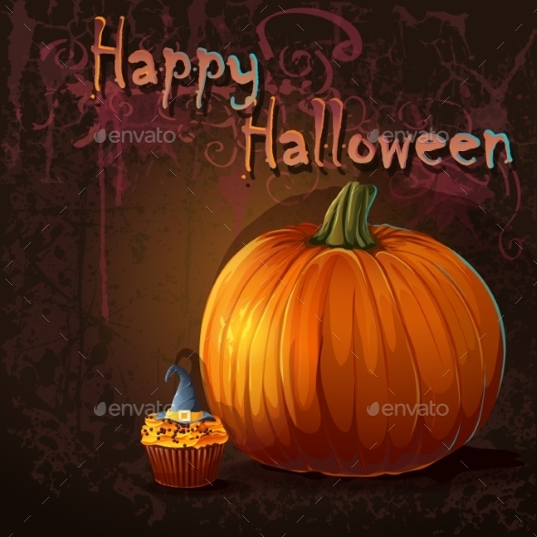 GraphicRiver Halloween Background 9703213