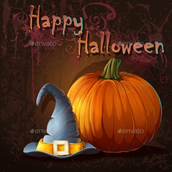 GraphicRiver Halloween Background 9703217