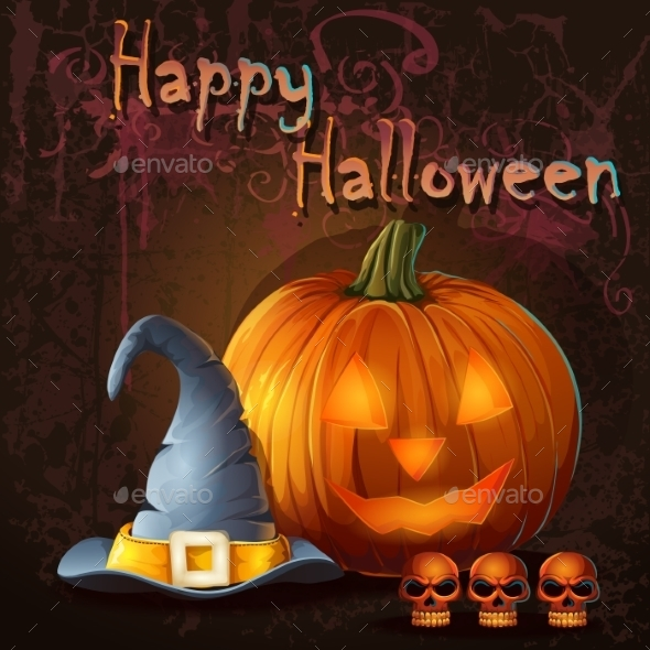 GraphicRiver Halloween Background 9703226