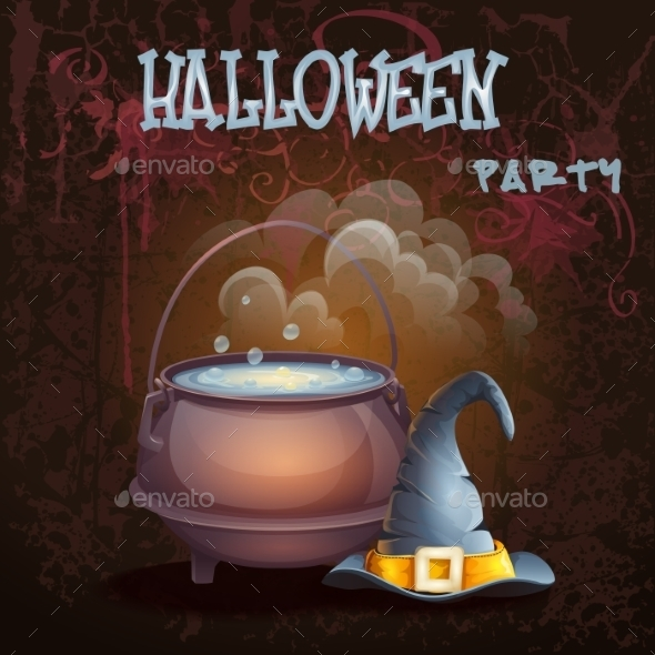 GraphicRiver Halloween Background 9703230