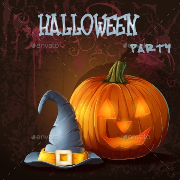 GraphicRiver Halloween Background 9703232