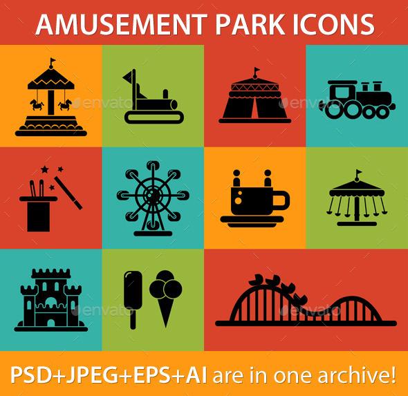 GraphicRiver Amusement Park 9685259