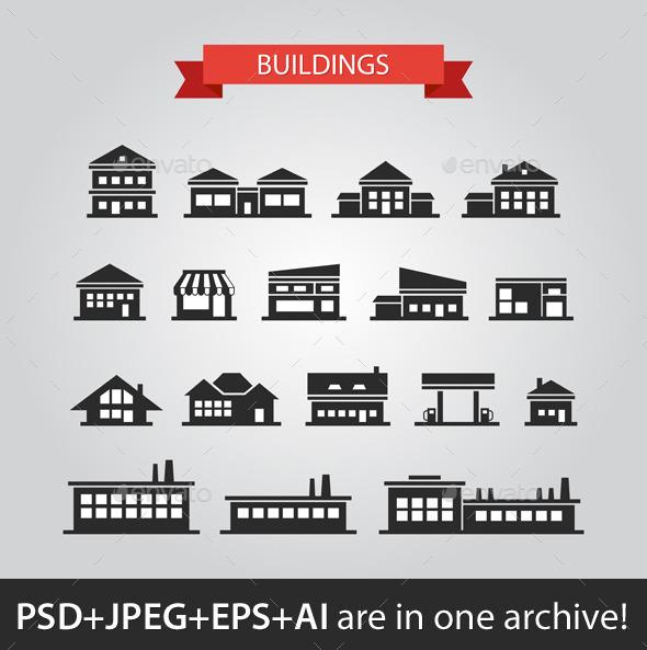 GraphicRiver Design Buildings 9685230