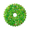 Green Christmas Cookie isolated - PhotoDune Item for Sale