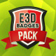 E3D Badges Pack - VideoHive Item for Sale