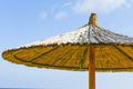 parasol of straw on the sea - PhotoDune Item for Sale