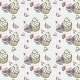 Seamless Pattern with Cakes and Fruits - GraphicRiver Item for Sale