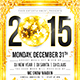 New Year Disco Flyer #2 - GraphicRiver Item for Sale