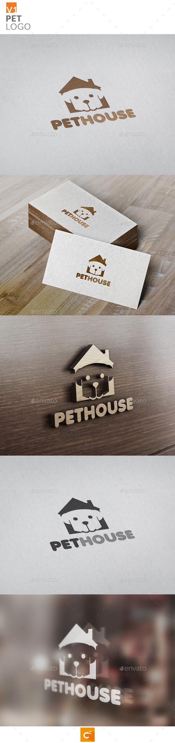 GraphicRiver Pets Logo 9704252
