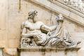 Ancient Roman allegory of Tiber River. Piazza del Campidoglio, P - PhotoDune Item for Sale
