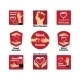 Blood Donation Emblems - GraphicRiver Item for Sale