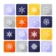 Snowflake Icons - GraphicRiver Item for Sale