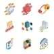 Data Analysis Icons - GraphicRiver Item for Sale