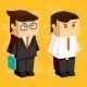 Square Businessmen - GraphicRiver Item for Sale