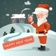 Santa Claus with Gift - GraphicRiver Item for Sale