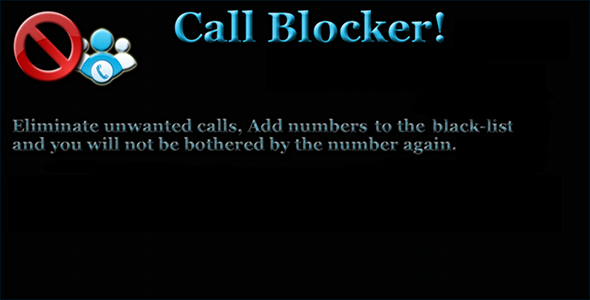 CodeCanyon Calls and SMS blocker 9454462