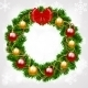 Christmas Fir-Tree Wreath - GraphicRiver Item for Sale
