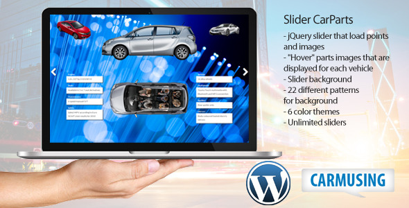 CodeCanyon Slider CarParts 9659593