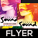 Sound Modern Flyer V2 - GraphicRiver Item for Sale