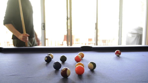 VideoHive Playing Pool 9705566