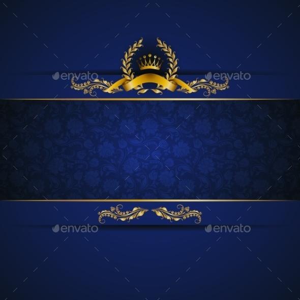 GraphicRiver Elegant Golden Frame Banner 9705747