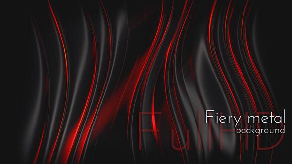 VideoHive Black Fiery Metal 9705758