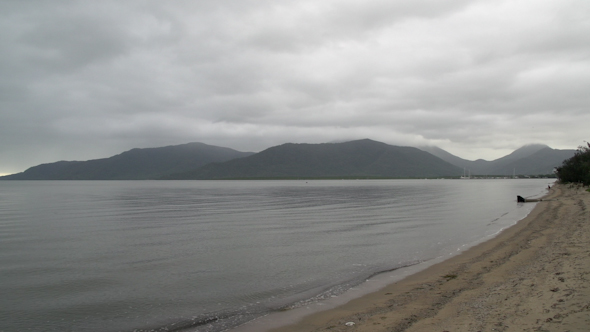 VideoHive Beach Cairns On A Cloudy Morning In Queensland Australia 9706016