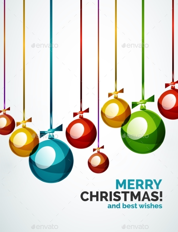 GraphicRiver Christmas Background 9706212