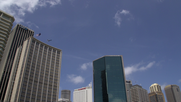 VideoHive Skyscrapers At Sydney Harbour 9706274