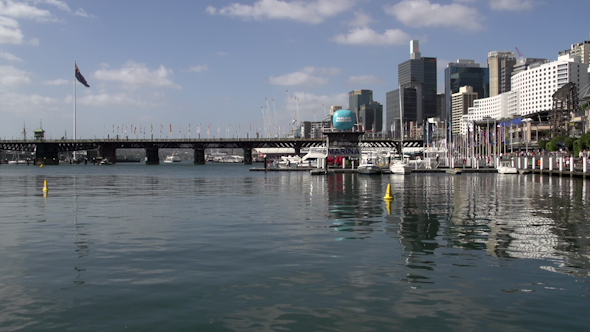 VideoHive Darling Harbour On A Summer Day 9706308