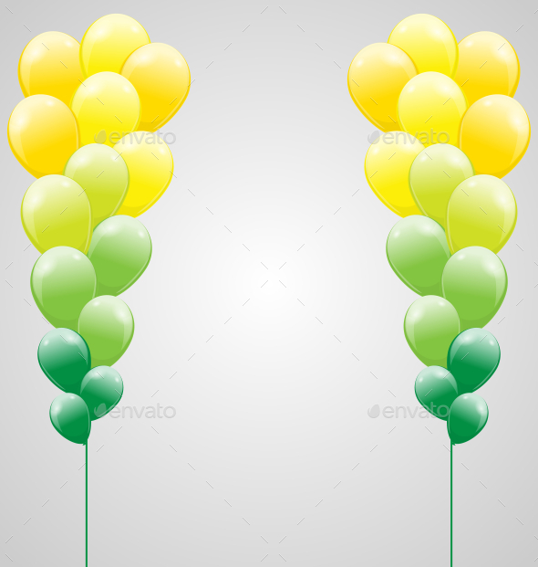 GraphicRiver Balloon Background 9706326