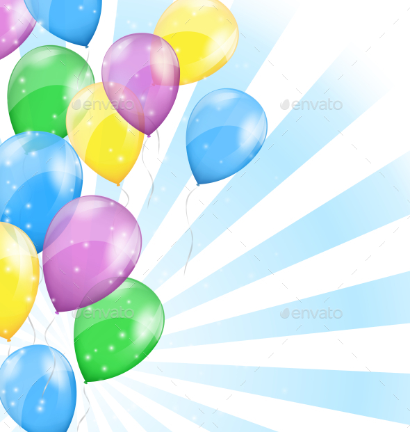 GraphicRiver Balloon Background 9706335