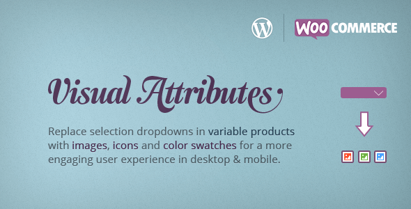 Visual Attributes WooCommerce Variable Products