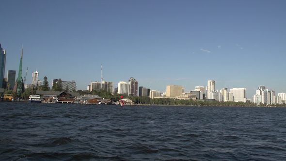 VideoHive Leaving Perth On A Ferry Western Australia 9706389