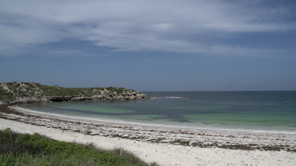 VideoHive Pan From Beach And Bay Near The Town Cervantes Western Australia 9706396