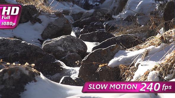 VideoHive Cheerful Splash Mountain Stream 9706417