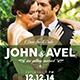 Wedding Invitation & RSVP - GraphicRiver Item for Sale