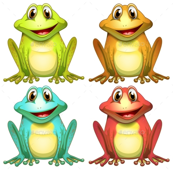 GraphicRiver Frogs 9706581