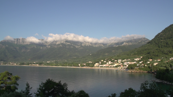 VideoHive The Bay Chrisi Ammoudia And Chrisi Akti Thassos Greece 9706683